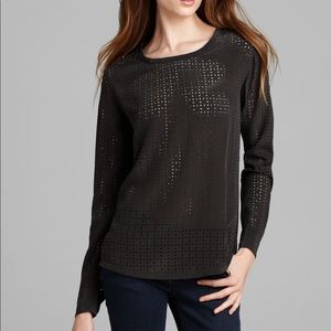 Equipment laser cut blouse